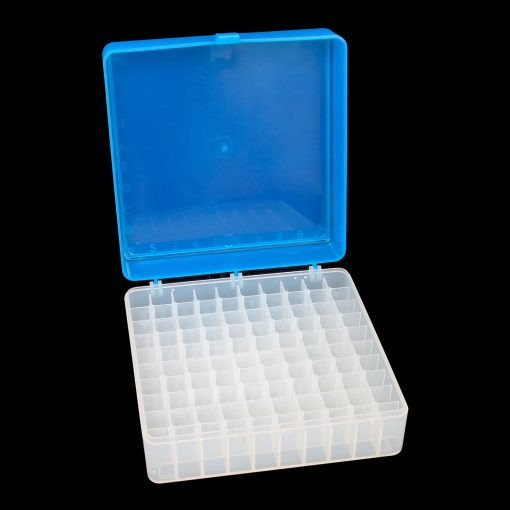 Tube rack hinged lid - 100 capacity polypropylene (PP)