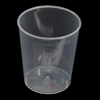 25ml gallipot/medicine measure polypropylene (PP)