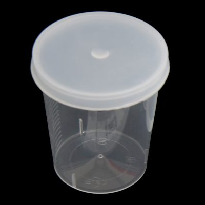 Snap on lid for 25ml medicine measure (fits 25GP) polyethylene