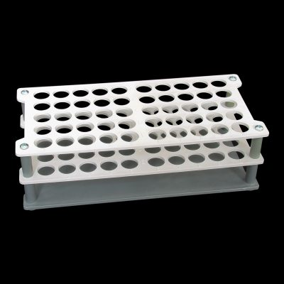 Double platform rack autoclavable - 50 capacity polypropylene (PP)