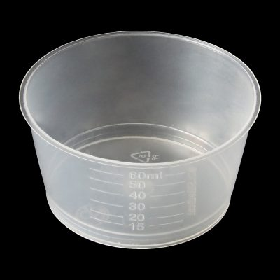 60ml gallipot/medicine measure polypropylene (PP)
