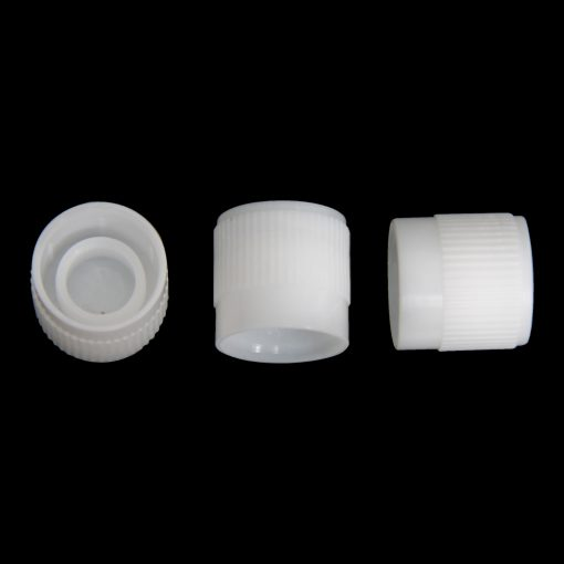 9mm skirted cap polyethylene