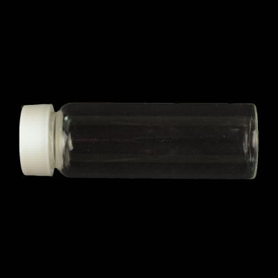 28ml glass bottle with white screw cap