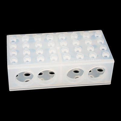 Four way combi rack/laboratory test tube rack polypropylene (PP)