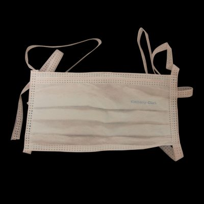 Tecnol surgical face masks latex-free tie on
