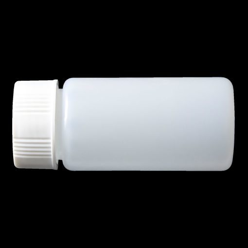 20ml screw top bottle high density polyethylene (HDPE)