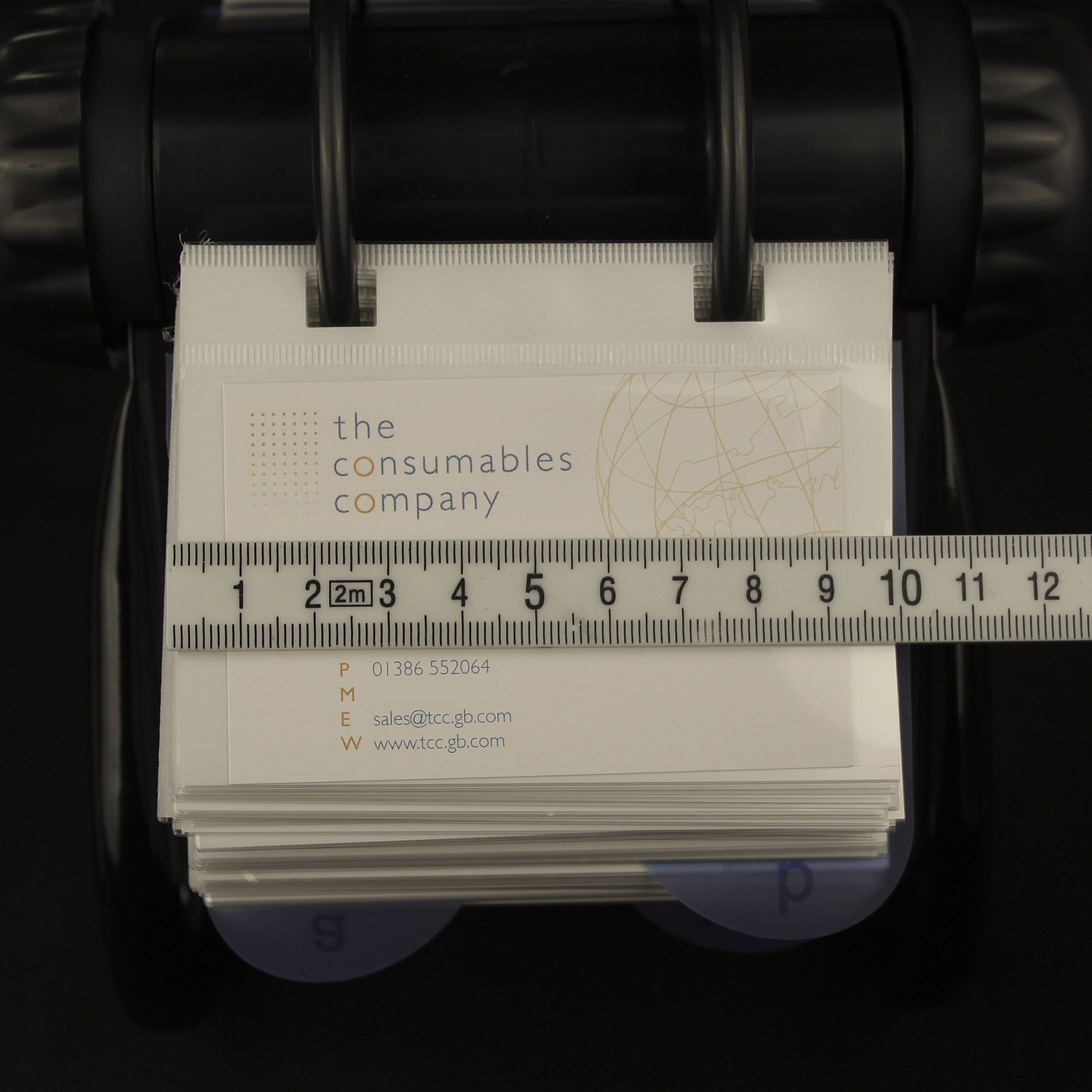 Rotary card filing system-300 card sleeves | Rolodex | TCC