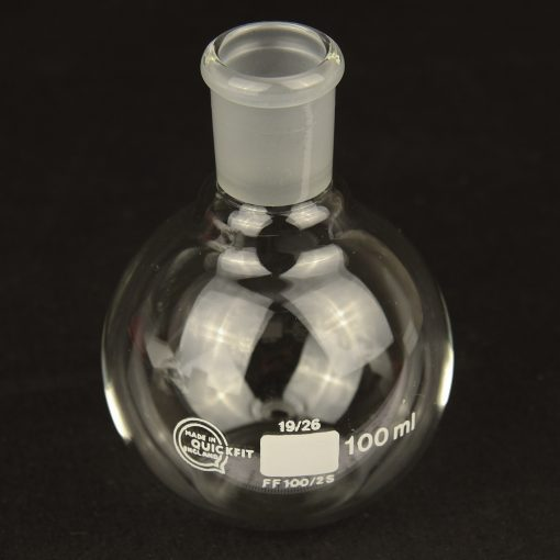 100ml flat bottom flask - borosilicate glass