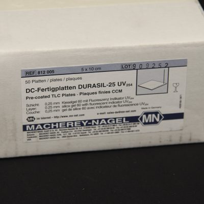 Thin layer chromatography plates boxed - image 1